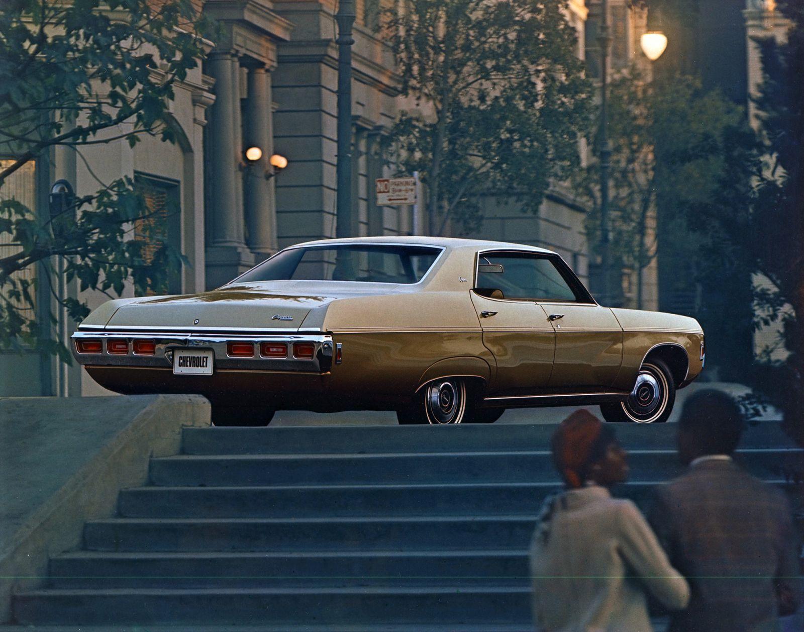 EINMALIGE VERWENDUNG Chevrolet Caprice/ 1969 Four-Door Hardtop