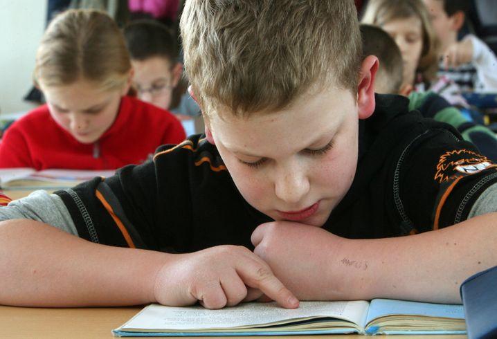 Kurz vor dem Übergang zur weiterführenden Schule: Viertklässler in Erfurt