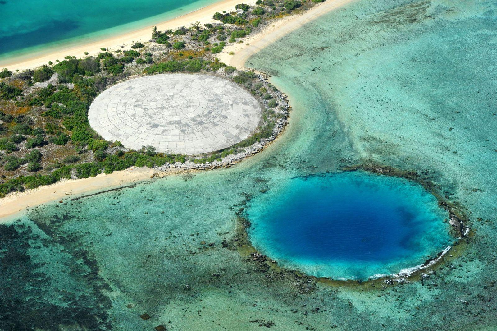 EINMALIGE VERWENDUNG Enewetak Atoll