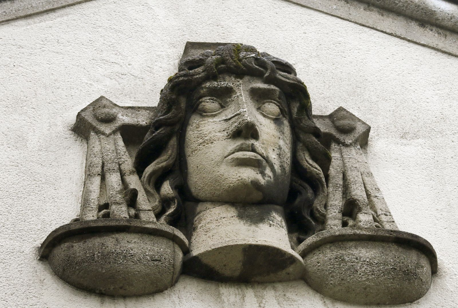 Justitia/ Landgericht Krefeld