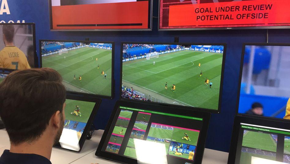 Videobeweis bei der Fußball-WM
