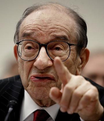 Geld-Eminenz Greenspan: Kein Interesse an einem Abstieg