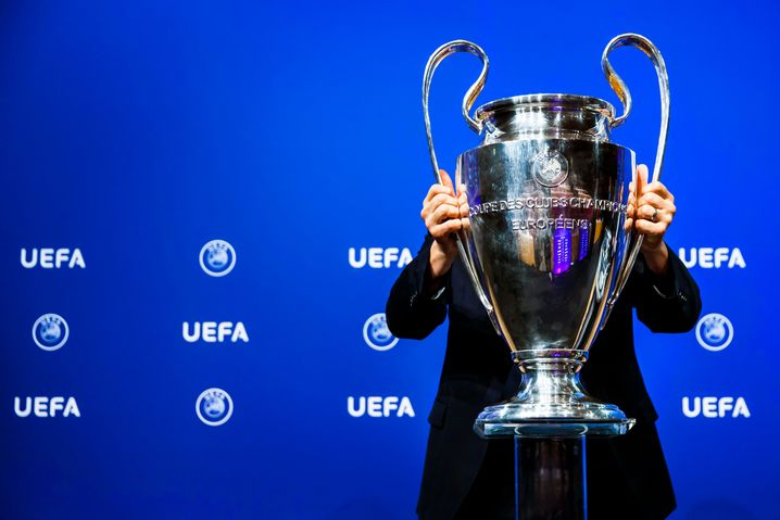 Der Champions-League-Pokal