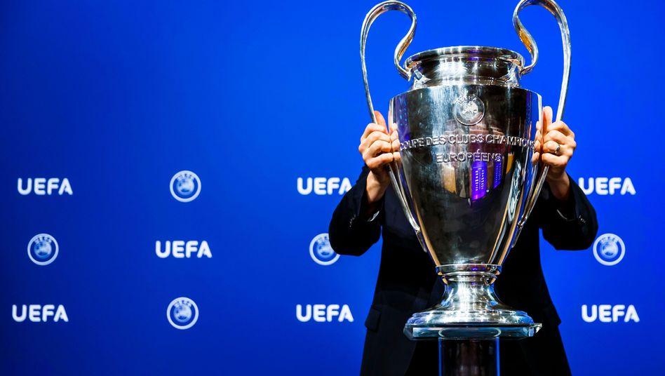 Trophäe der Uefa Champions League