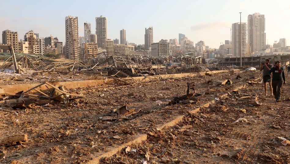 Trümmer in Beirut: Die politische Aufarbeitung der Katastrophe dauert noch an