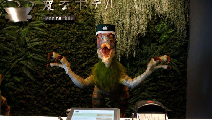 Nicht effizient genug: Japanisches Roboter-Hotel entlässt Roboter