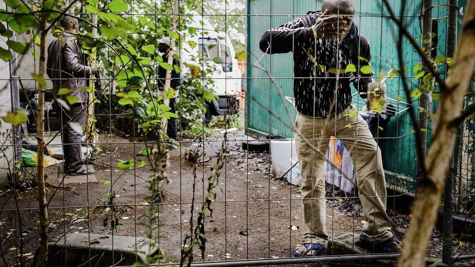 Ghanaer Aboagye in Hamburger Gewerbegebiet: »Nicht ganz deutscher Standard«