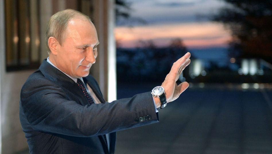 Präsident Putin: Kritik an den USA