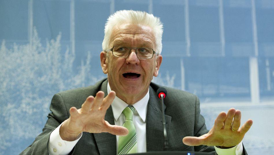 "Grünen-Politiker Kretschmann: ""Maß und Mitte"""