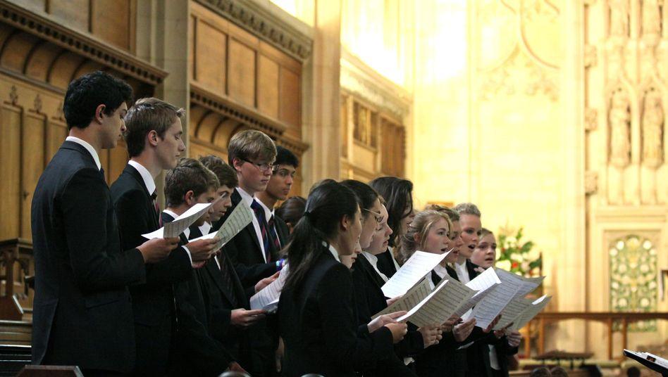 Schüler des Malvern College, Großbritannien
