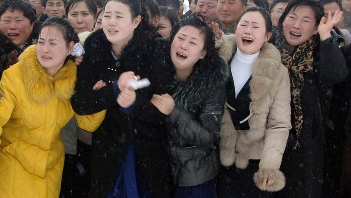 Pompöses Staatsbegräbnis: Tränen für Kim Jong Il