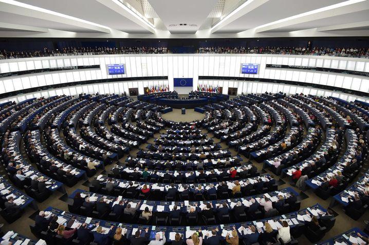 EU-Parlament in Straßburg im Februar 2019