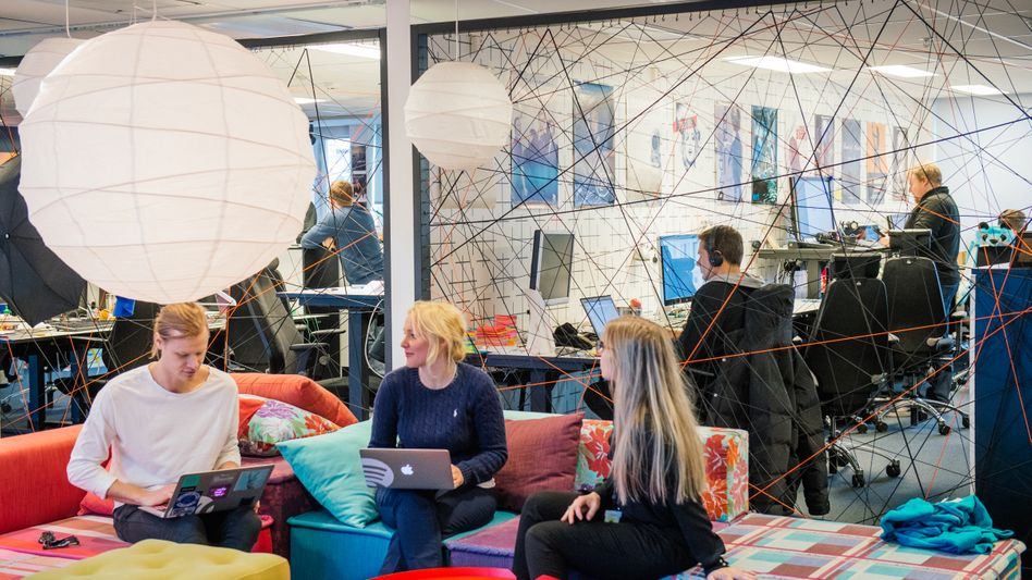 Spotify-Zentrale in Stockholm