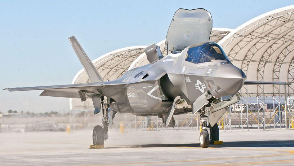 F-35-Kampfjet: Heikle Unterlagen sollten gen Iran gehen
