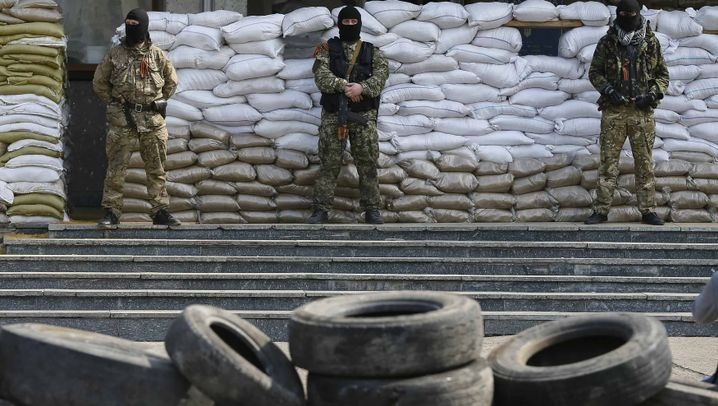 Krise in der Ostukraine: Die Barrikaden bleiben
