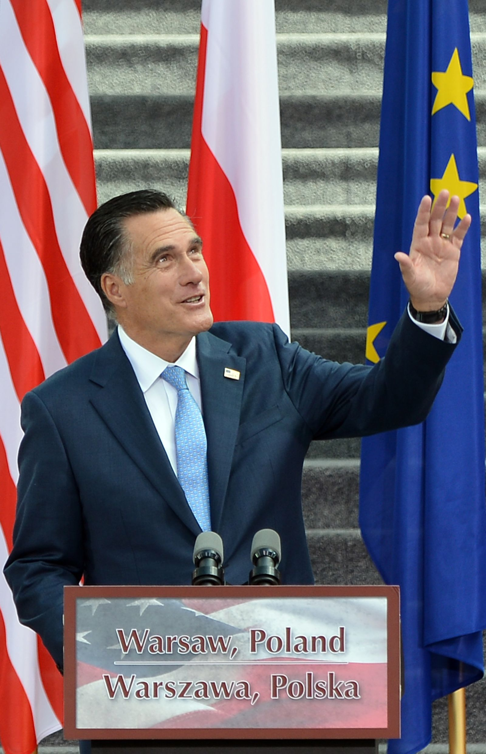 POLAND-US-VOTE-ROMNEY