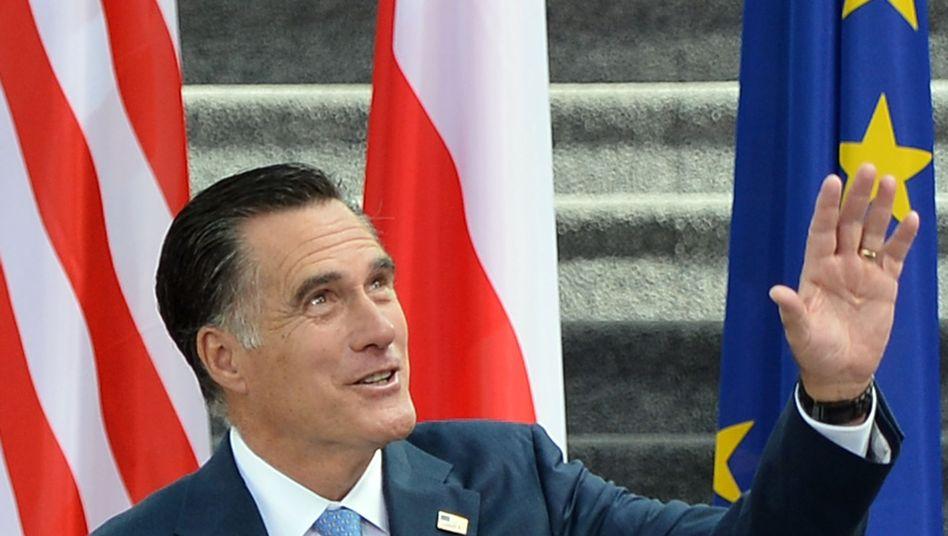 US Republikaner Romney: Stocksteif, ideenlos, künstlich, distanziert