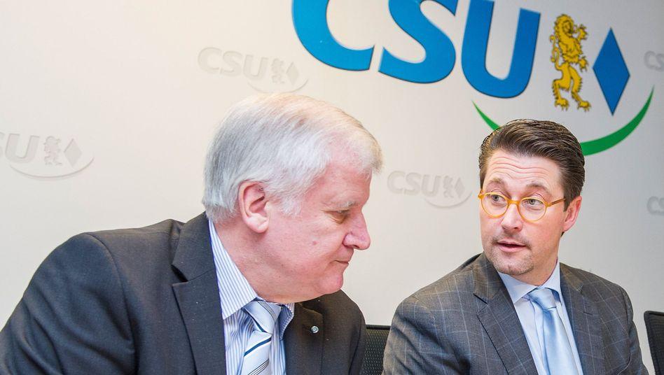 """Seehofer und Scheuer: """"Man wundert sich"""""""