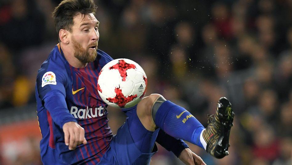 FC Barcelona superstar Lionel Messi