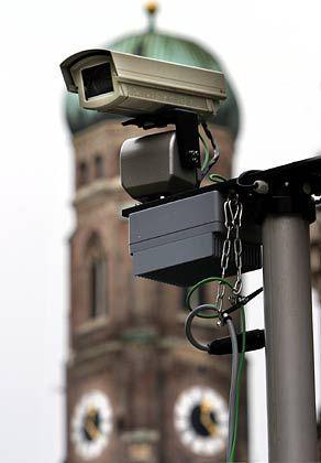 """Überwachungskamera in München: """"Negatives Gegenbeispiel"""""""