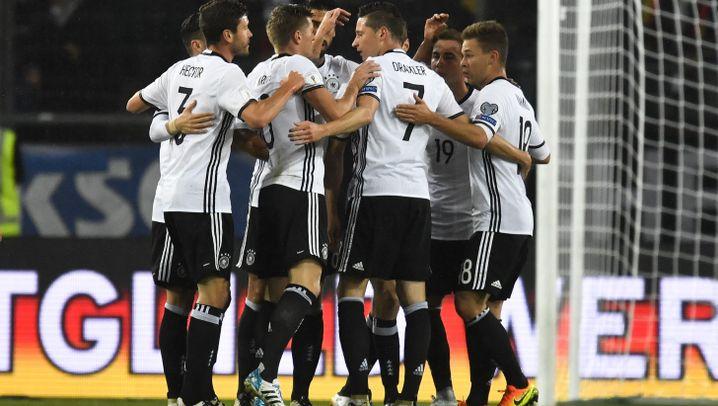 Deutschlands Sieg gegen Nordirland: Mit Auge