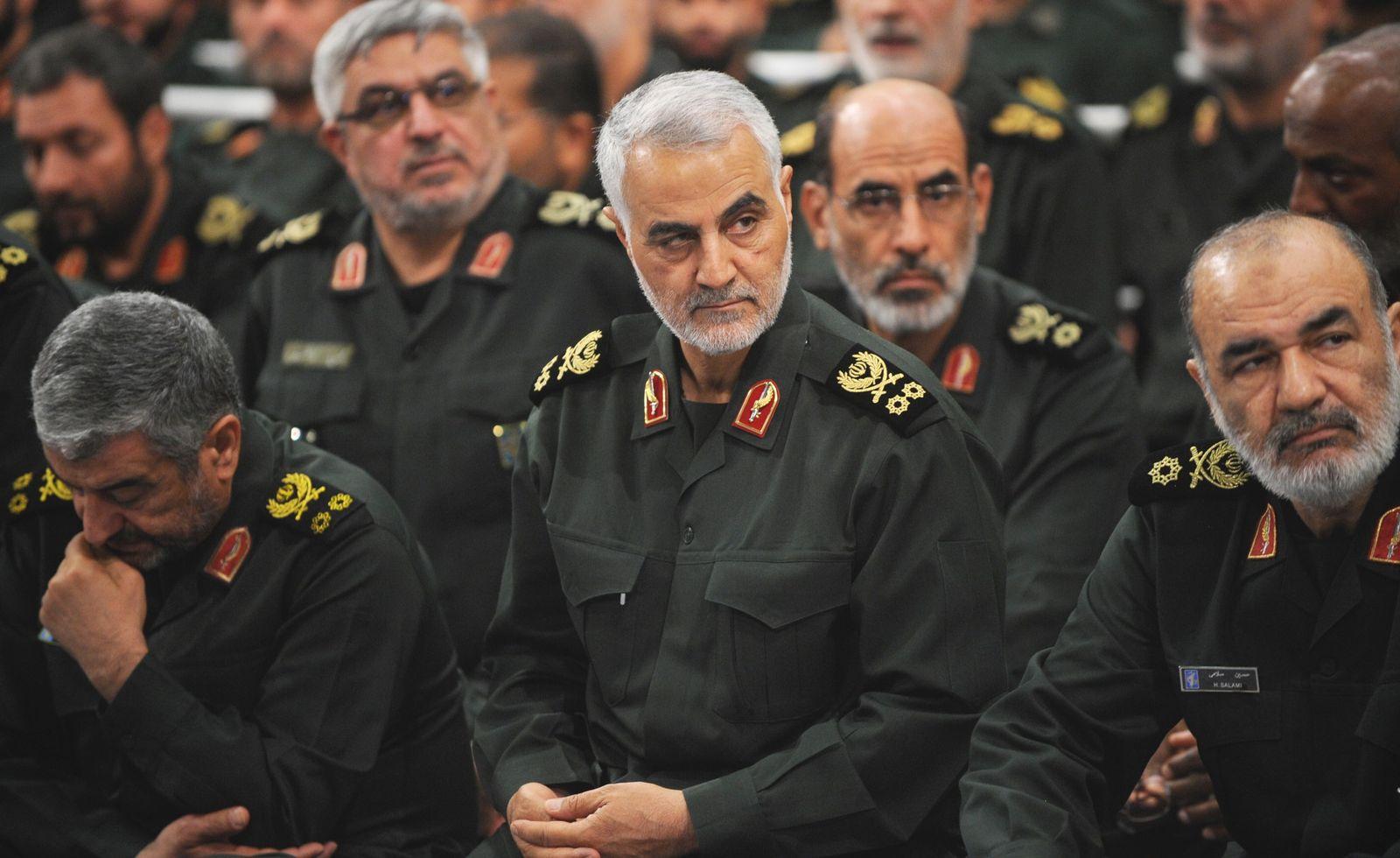 EINMALIGE VERWENDUNG Qassem Soleimani