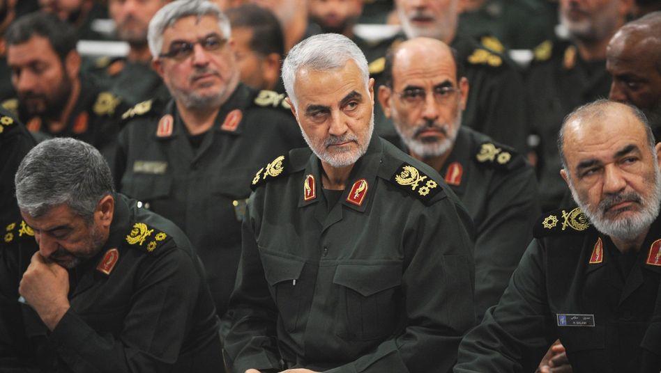 Qassem Soleimani hat die Auslandsoperationen des iranischen Regimes im Blick