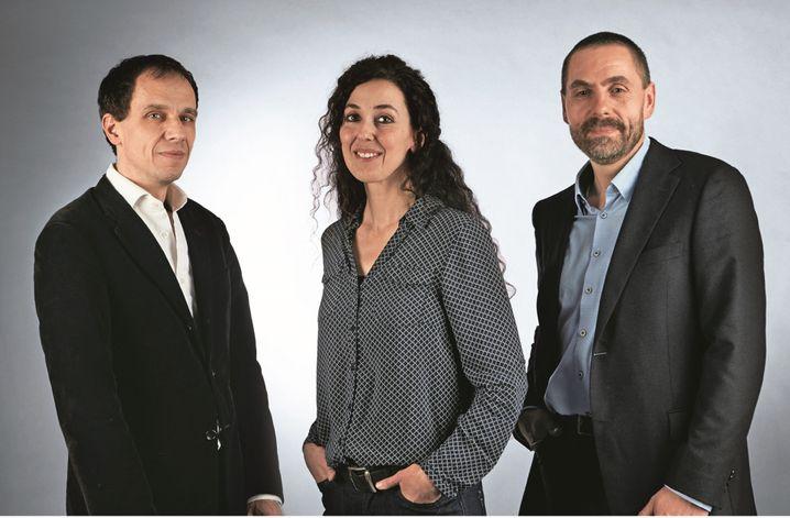 Wir sind Dreierspitze: Marcus Halfen-Kieper, Sonya Mayoufi und Rainer Blase (v.l.) leiten künftig die Odenwaldschule