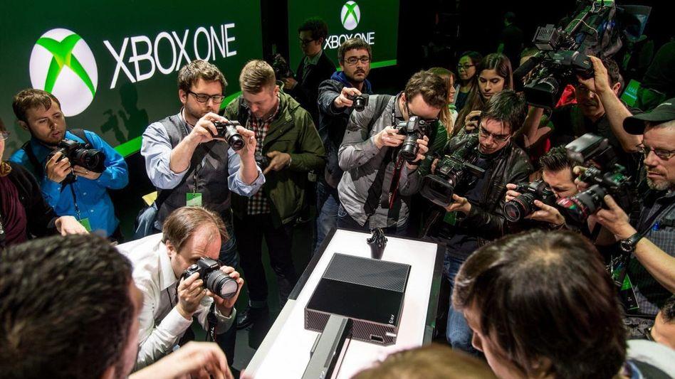 Präsentation der Xbox One bei Microsoft
