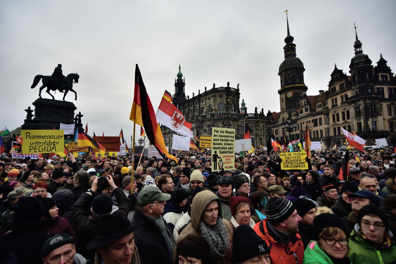 Pegida / Dresden
