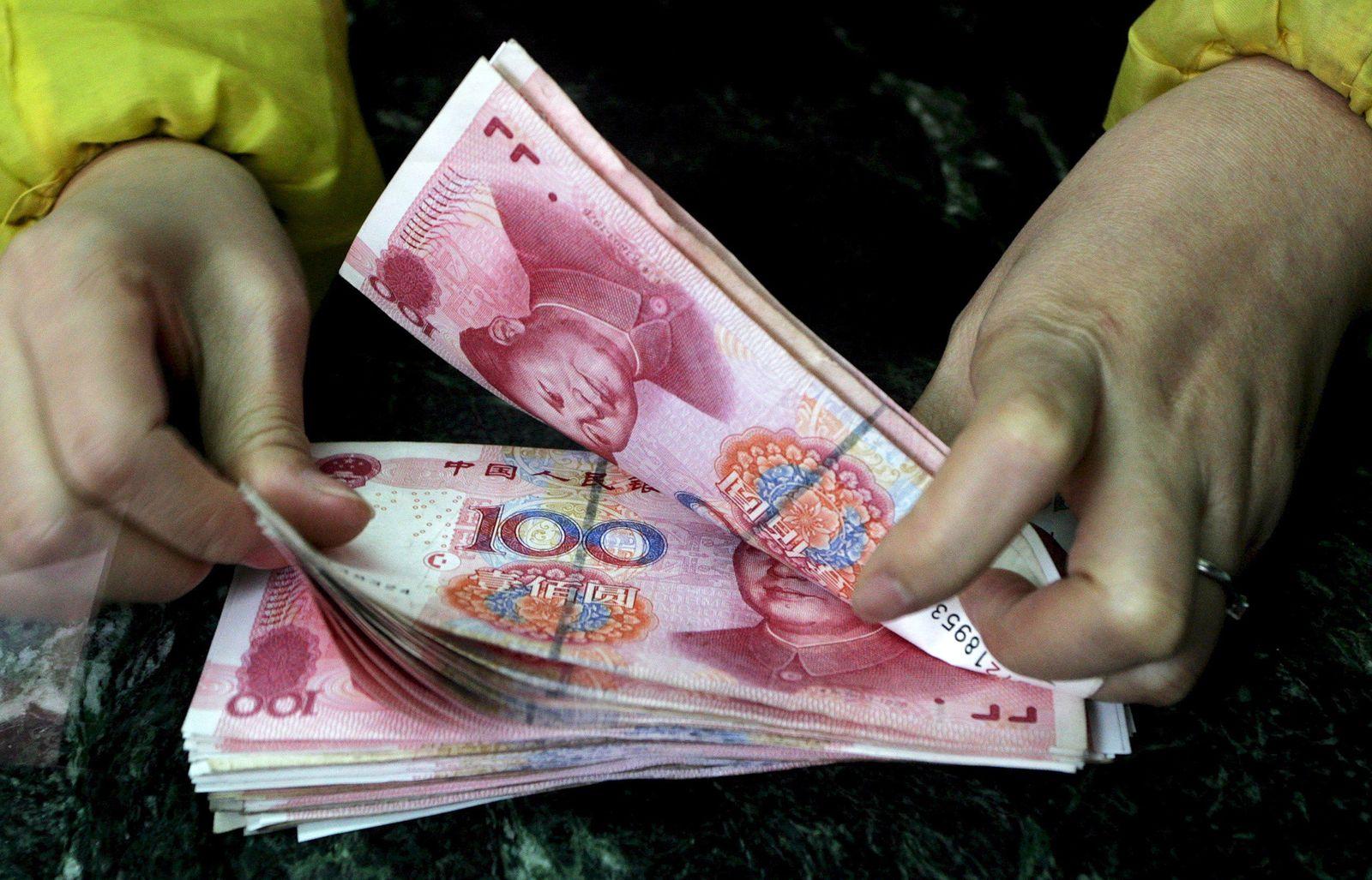 China / Geldscheine / Geld