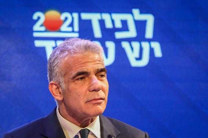 Zentrumspolitiker Jair Lapid: Muss ein Bündnis aus Netanyahu-Gegnern schmieden, um Regierungschef zu werden