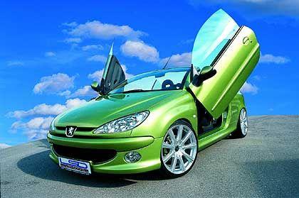 Peugeot mit LSD: Die Türen öffnen auch konventionell