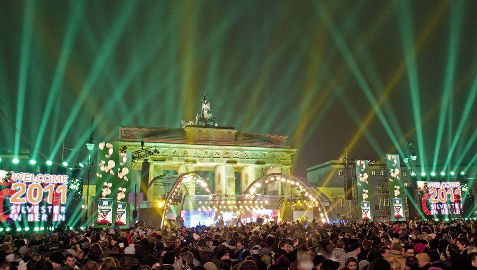Silvesterpartys: DieWelt feiert 2011