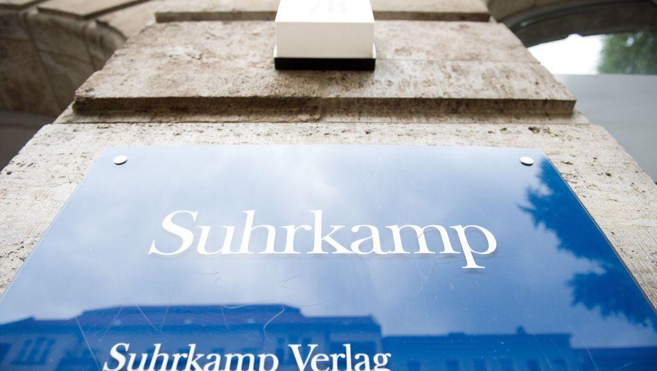 Verlagszentrale von Suhrkamp: Umwandlung in AG zunächst gestoppt
