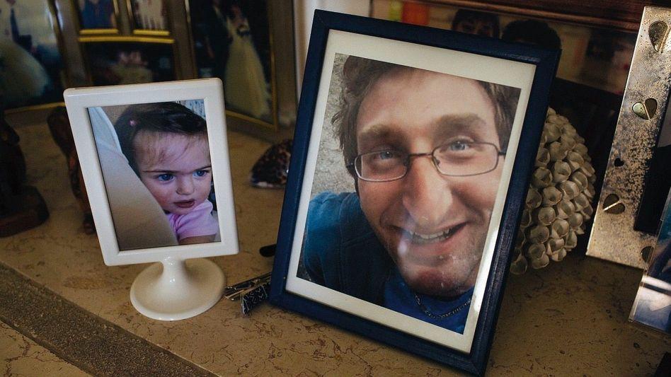 Fotos von Soldat Pozniansky und Tochter Shira: »Wenn wir über ein Leben nach dem Tod sprechen, dann ist es das«