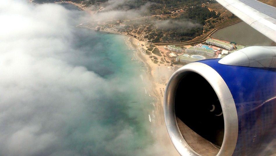 Triebwerk eines Flugzeugs