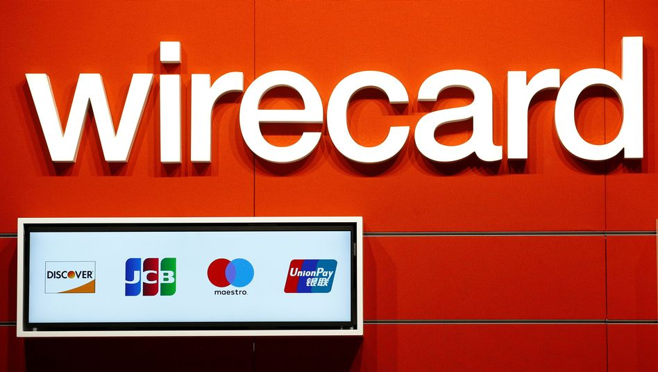Wirecard-Logo in Köln