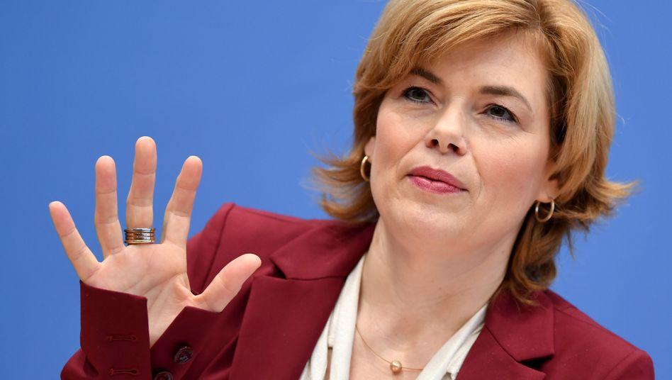 Julia Klöckner (CDU), Bundesagrarministerin