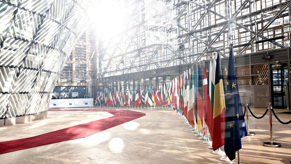 The European Council in Brussels.
