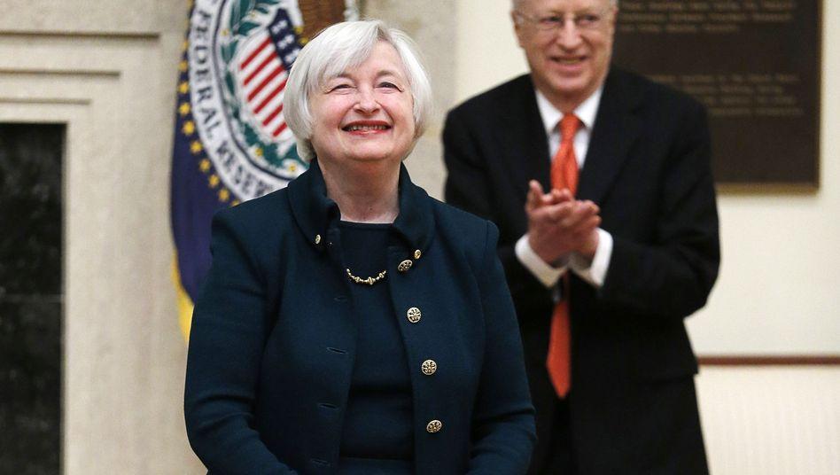 Fed-Chefin Yellen und Ehemann Akerlof: Rückzug vom Beraterposten