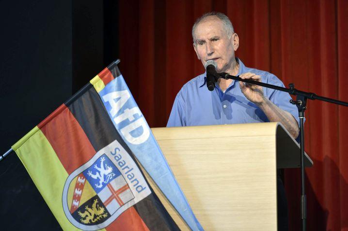 Josef Dörr, Chef der Saar-AfD