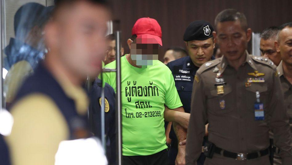 Verdächtiger in Bangkok: Leiche in eine Box gelegt und in einen Kanal geworfen?