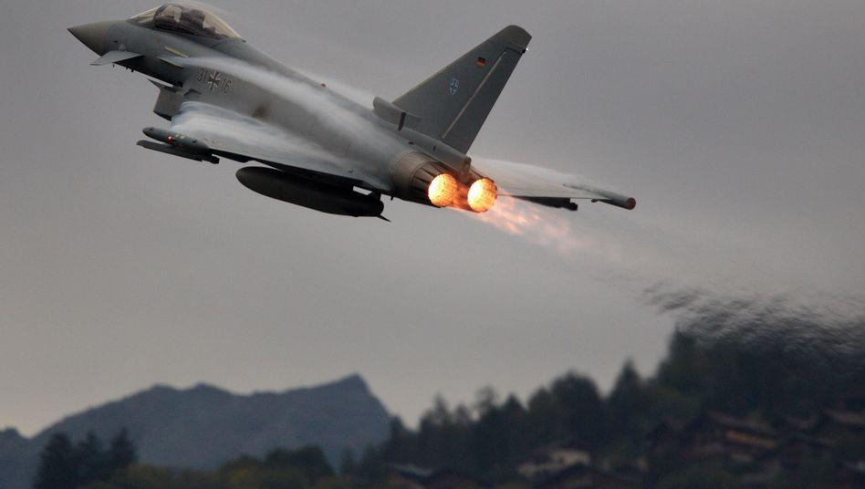 """EADS-Produkt Eurofighter: """"Das ist die Entscheidung der Unternehmen"""""""