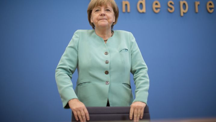 """Merkel vor der Bundespresse: """"Deutschland ist kein Überwachungsstaat"""""""