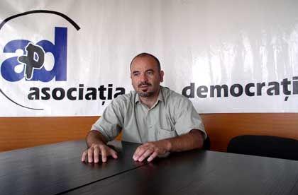 Kampf für mehr Demokratie: Adrian Sorescu