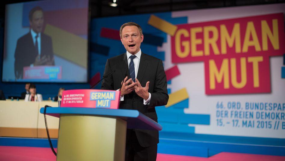"""FDP-Chef Lindner in Berlin über die Große Koalition: """"Wohlfühl-Stagnation"""""""