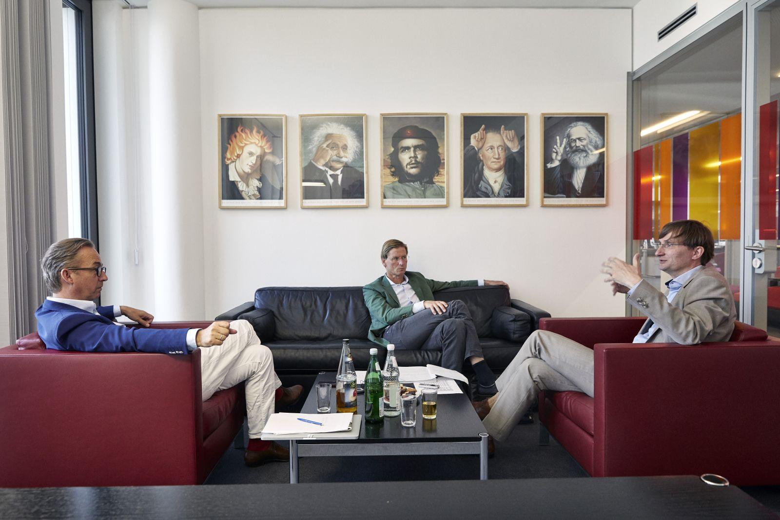 EINMALIGE VERWENDUNG SPIEGEL Plus SPIEGEL 29/2017 S. 42 Militärhistoriker Neitzel