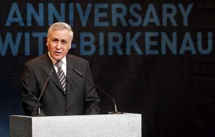 """Israels Präsident Katsav: """"Es ist, als ob wir noch immer die Schreie der Toten hören können"""""""