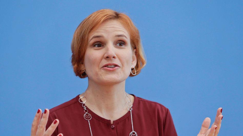 Katja Kipping, Parteivorsitzende (Archivbild)
